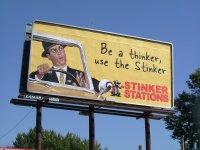 Billboard na drodze